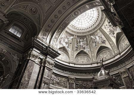 St. Stephen's Basilica, Interior Panorama