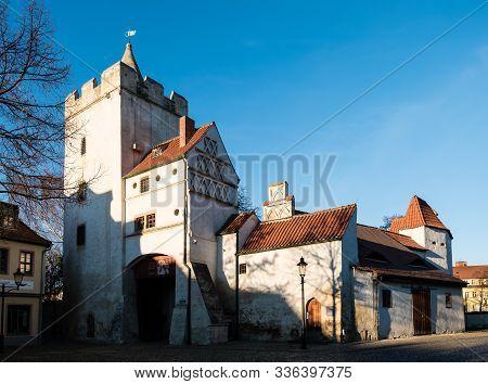 Marientor In City Naumburg Saxony-anhalt Germany Old