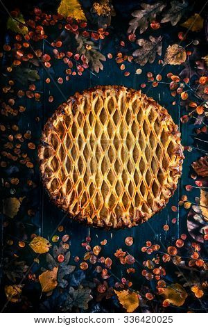 Rustic Sweet Potatoes Pie, A Perfect Dessert For Autumn