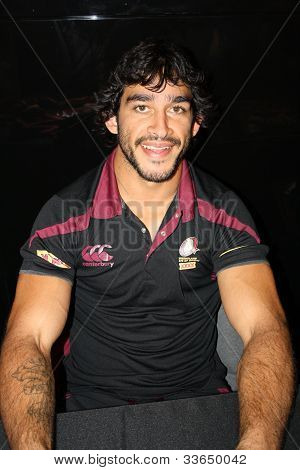 Johnathan Thurston -State of Origin