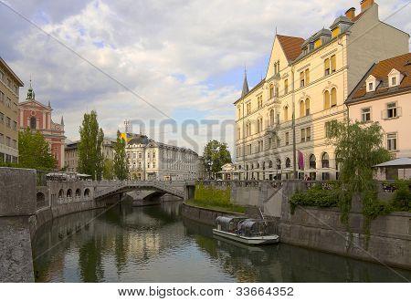 City Ljubljana, Slovenia