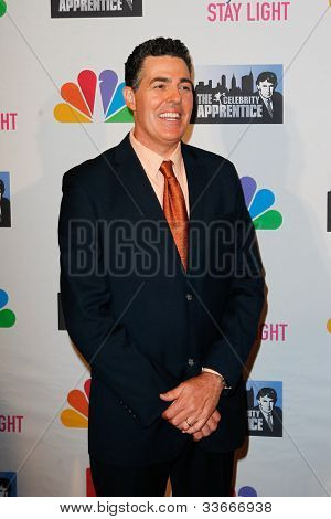 NEW YORK-MAY 20: Comedian Adam Carolla attends the