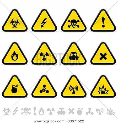 Alert triangles