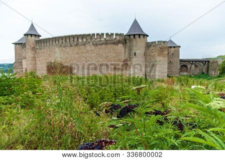 Khotyn Fortress Of The X Xviii Centuries With A Fortification Complex, One Of The Seven Wonders Of U