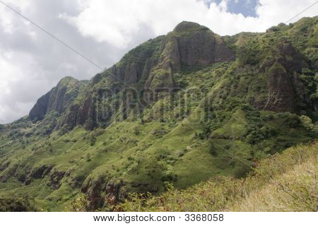 Makaha Valley Mountains 3