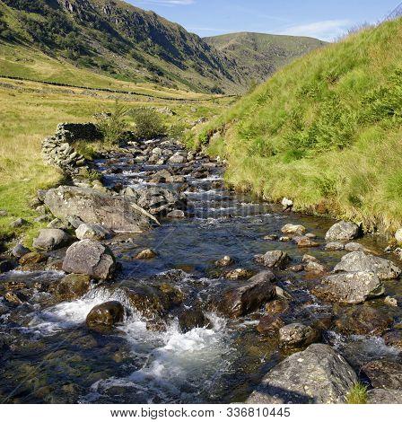 Riggindale Beck & Riggindale Crag, Haweswater, Lake District, Cumbria