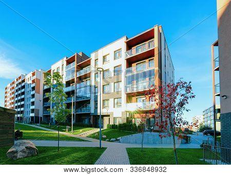 Apartment Residential House Home Facade Architecture Outdoor Facilities