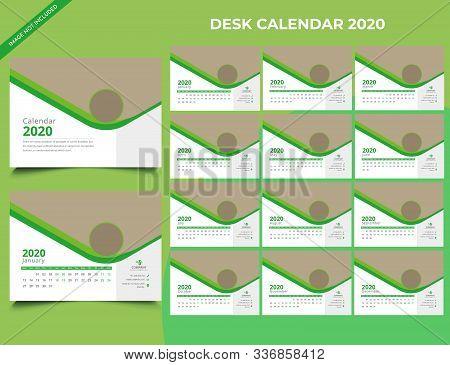 Calendar 2020 Templates In Vecto Design Illustration 8