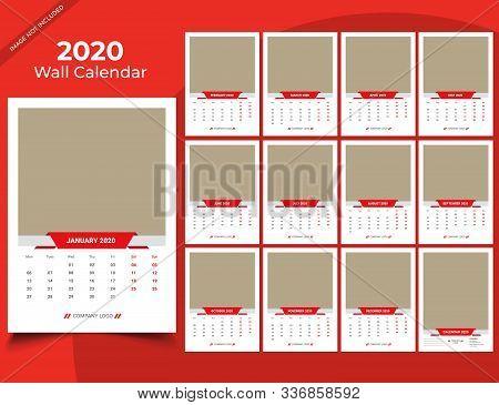Calendar 2020 Templates In Vecto Design Illustration 11