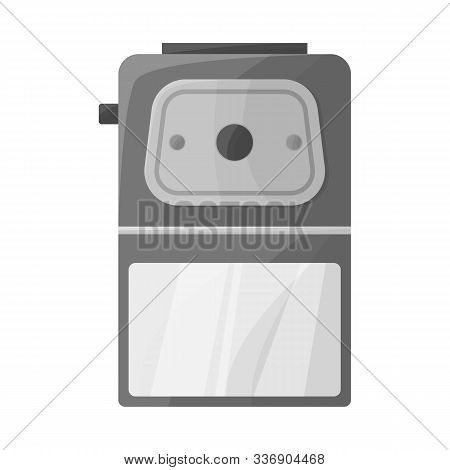 Vector Design Of Sharpener And Whittle Logo. Web Element Of Sharpener And Sharpen Stock Symbol For W