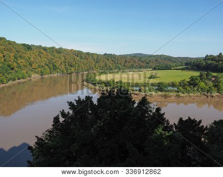 River Wye In Chepstow