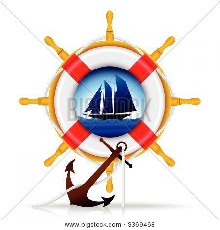 Nautical Elements - Vector