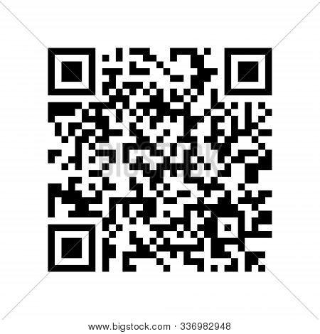 Qr Code With Encrypted Text Lorem Ipsum