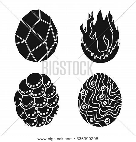 Vector Illustration Of Fantastic And Cute Symbol. Set Of Fantastic And Magic Stock Vector Illustrati