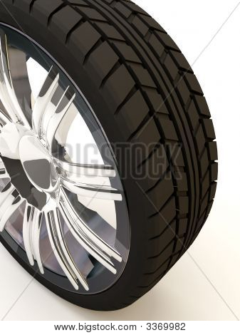 Tire From A Cenital View
