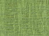 Abstract generated green fiber pattern background . poster