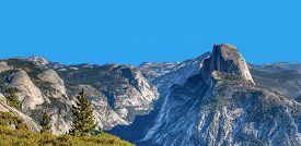 Half Dome, Yosemite National Park Located In California