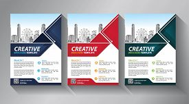 Business Abstract Vector Template. Brochure Design, Cover Modern Layout, Annual Report, Poster, Flye