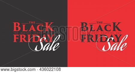 Creative Banner Of The Black Friday Sale - The Black Friday Sale Template Design