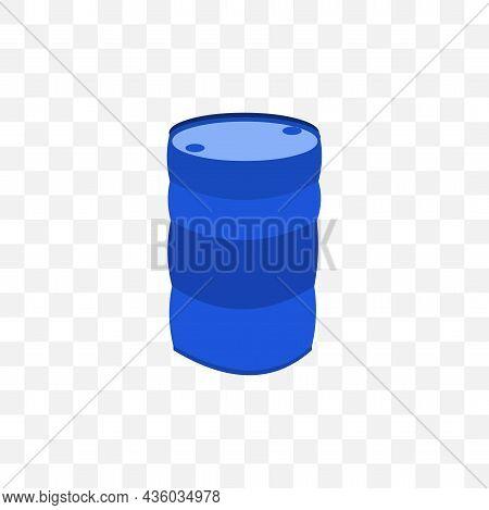 Industry Oil Barrel Vector Illustration. Industry Oil Barrel Vector Illustration.