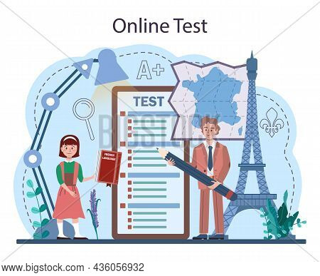 French Online Service Or Platform. Language School French
