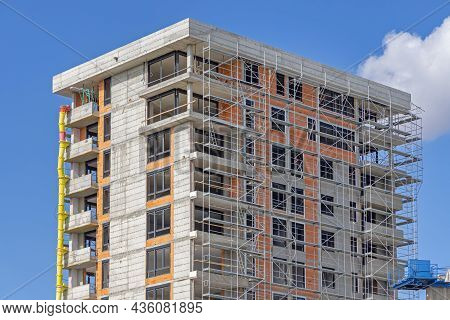 Residential Building Construction Site Steel Scaffolding Equipment