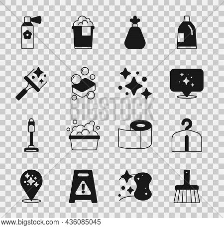 Set Handle Broom, Hanger Wardrobe, Home Cleaning Service, Garbage Bag, Bar Of Soap, Rubber Cleaner F