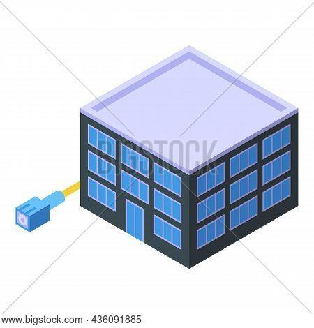 City Internet Provider Icon Isometric Vector. Wireless Service. Wifi Network