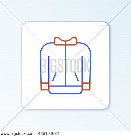 Line Baseball T-shirt Icon Isolated On White Background. Baseball Jersey, Sport Uniform, Raglan T-sh