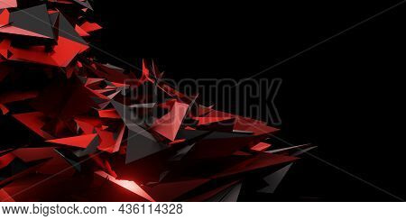 Abstract Background Of Modern Technology Futuristic Gaming Social Media Banner Template 3d Illustrat