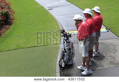 volunteers at The players championship 2012