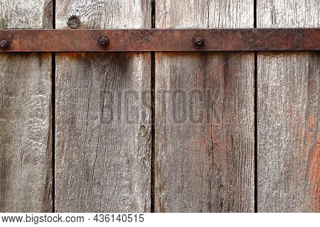 Gray Wood Texture. Grey Wooden Wall Background. Rustic Wood Natural Pattern. Countryside Architectur