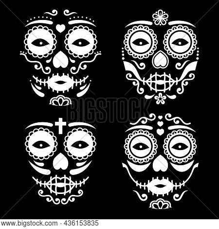 La Catrina Vector Design Set - Halloween, Day Of The Dead