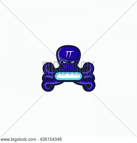 E Sport Logo Game Octopus Mascot E-sport