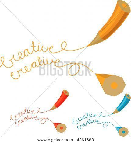 Two Creative Pencil