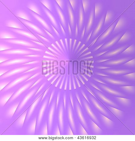 Three Dimensional Pink And Lilac Pattern