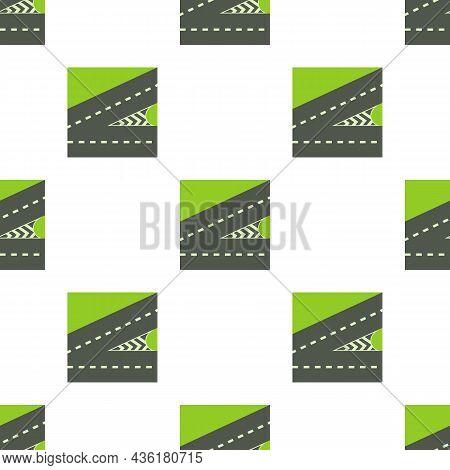Crossroads Pattern Seamless Background Texture Repeat Wallpaper Geometric Vector