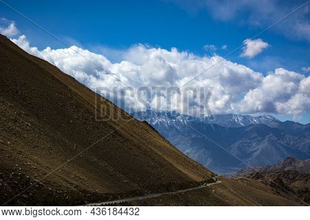 The Mighty Himalayas In Ladakh Region Of India