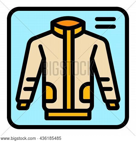 Donate Garment Icon. Outline Donate Garment Vector Icon Color Flat Isolated