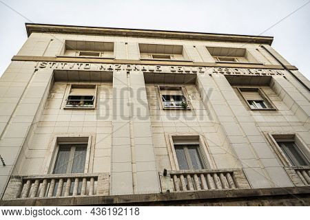 National Insurance Institute Building In Italy