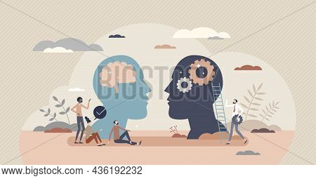 Linguistics As Language Or Communication Scientific Study Tiny Person Concept. Speech Analysis For G