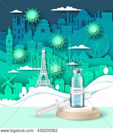 Coronavirus Vaccination Campaign, Protection Against Covid-19 Disease, Travel After Covid Vaccine, V