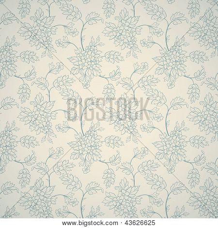 Floral Ornamental Pattern