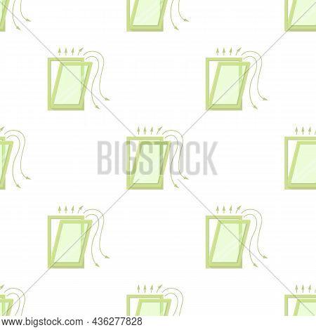 Window Ventilation Pattern Seamless Background Texture Repeat Wallpaper Geometric Vector