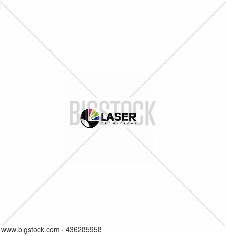 An Illustration Consisting Of A Schematic Image Of A Prism Through Which Light Passes. Optics And La