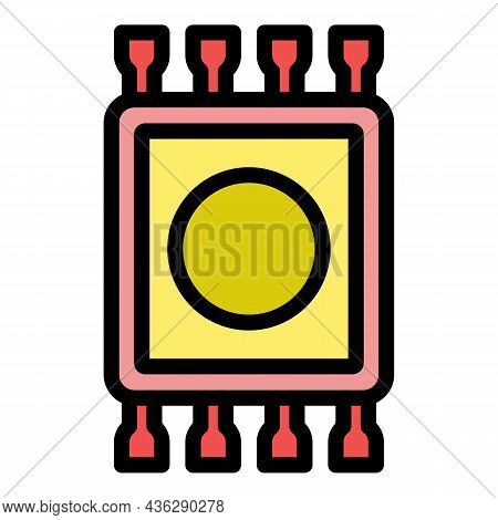 Egypt Mat Icon. Outline Egypt Mat Vector Icon Color Flat Isolated