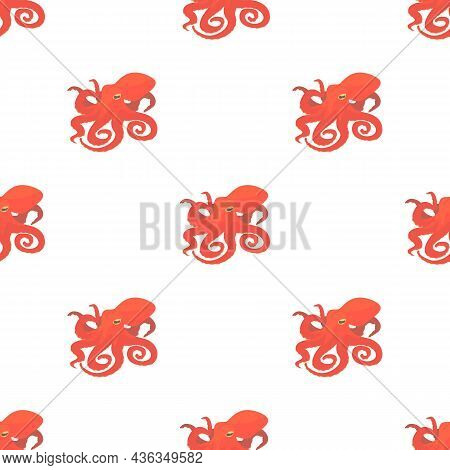 Octopus Pattern Seamless Background Texture Repeat Wallpaper Geometric Vector