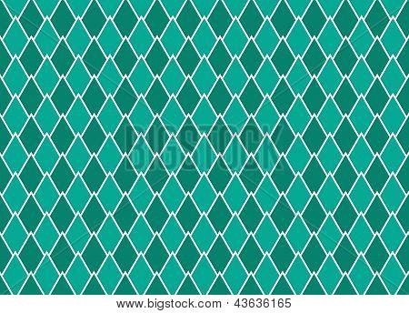 Emerald Arrows Interlaced