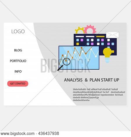 Analysis And Plan Start Up Service, Consulting Firm For Organization Management And Methodology, Vec
