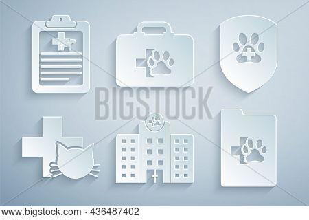 Set Veterinary Medicine Hospital, Animal Health Insurance, Clinic, Clinical Record Pet, Pet First Ai